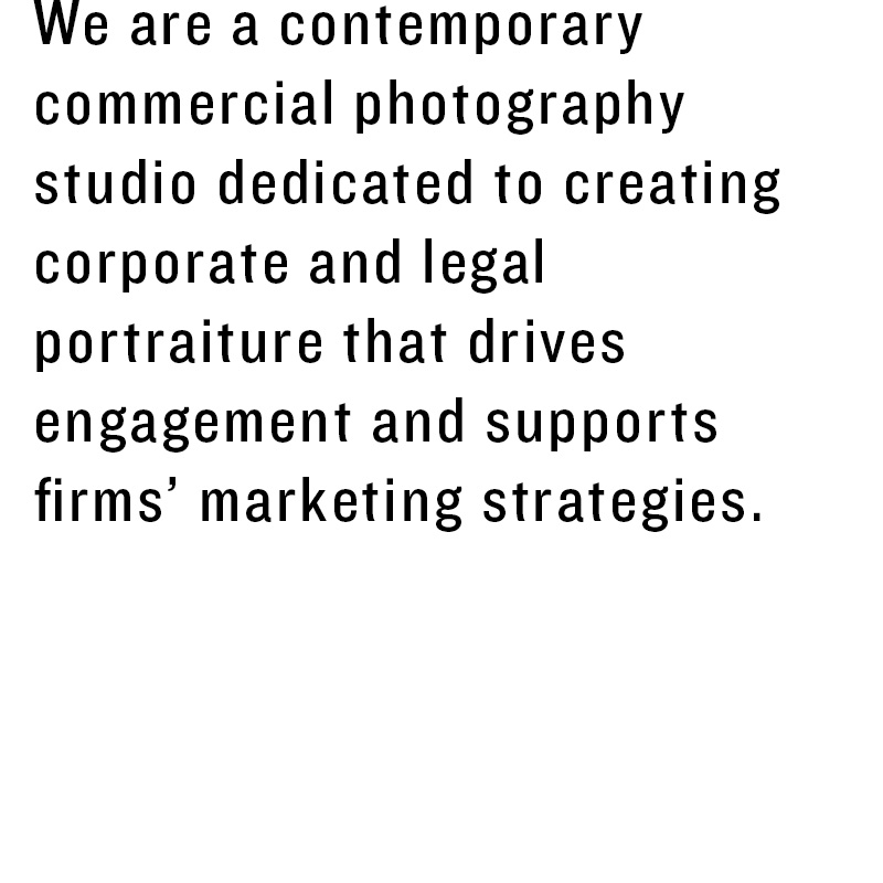 Picture More Business is a contemporary commercial photography studio dedicated to creating corporate and legal portraiture that drives engagement and supports firms' marketing strategies.
